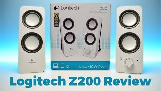 Logitech Z200 Speakers Review