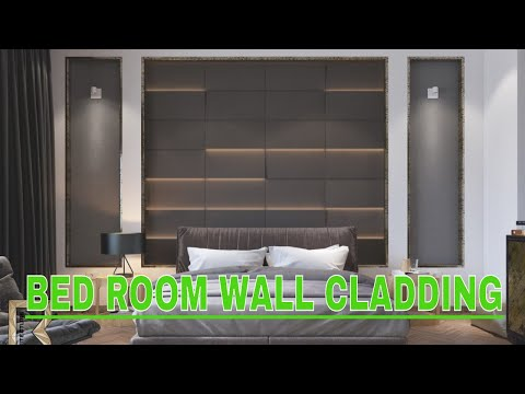 Bed Room  Wall Panels !! Wall Art 3d Wall Panel Designs!! Wall Cladding Design Idea!! Choose One