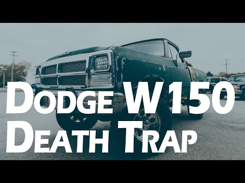 "Dodge W150 8"" lift Death Trap fixed by Mount Zion Offroad Shop"