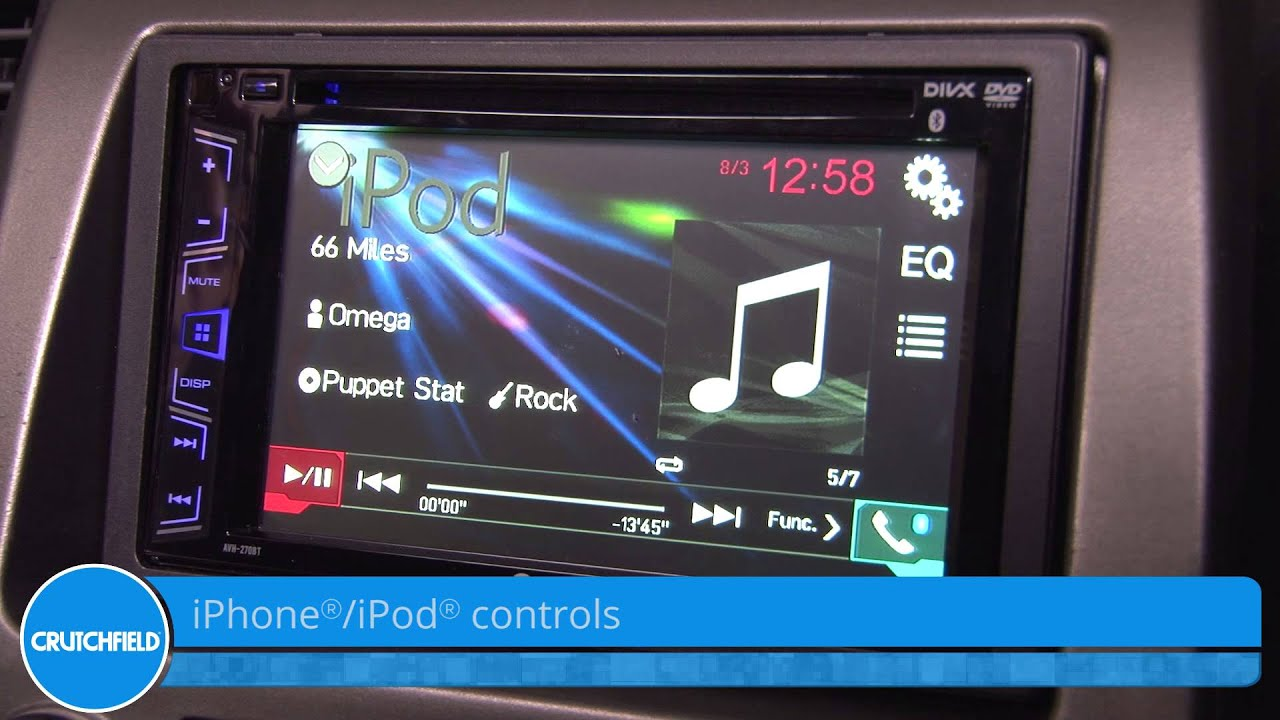 pioneer avh-270bt display and controls demo | crutchfield video