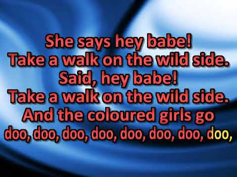 Take A Walk On The Wild Side [karaoke]