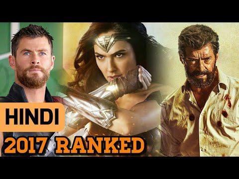 2017 Superhero Movies Ranked ( in Hindi )