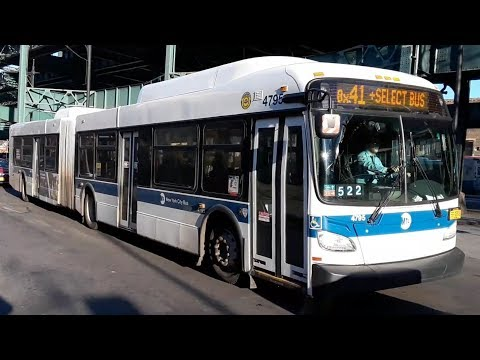 MTA: 2012-2013 New Flyer XD60's [4716]/[4795] Bx39/Bx41 SBS