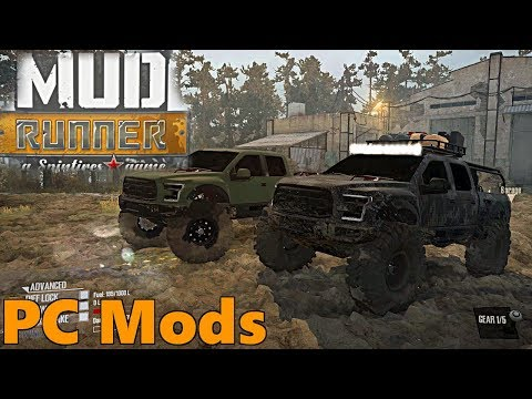 SpinTires Mud Runner: PC Mods, 2017 Ford Raptor