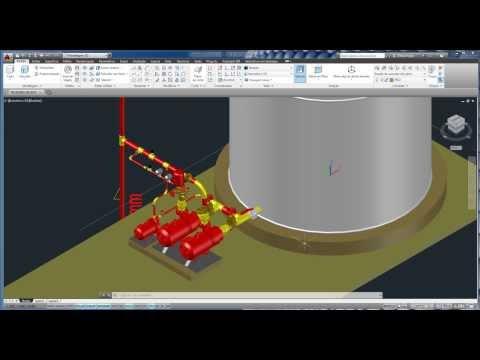 Bombas  centrífuga e jockey em 3D para projetos no Autocad.