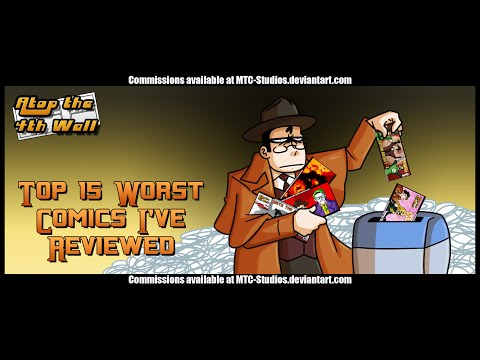 Top 15 Worst Comics I've Ever Reviewed - Atop the Fourth Wall