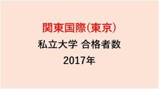関東国際高校 大学合格者数 2017~2014年【グラフでわかる】