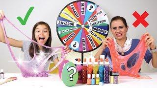 DESAFIO DA ROLETA MISTERIOSA DE SLIME!! ★ Com INGREDIENTE SURPRESA! Mystery Wheel Of Slime Challenge thumbnail