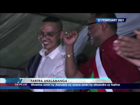 VAOVAO DU 22 FEVRIER 2021 BY TV PLUS MADAGASCAR