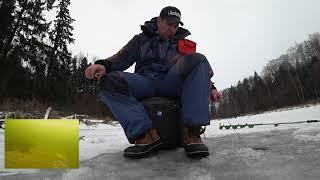 Рыбалка на Учинском Водохранилище черная речка