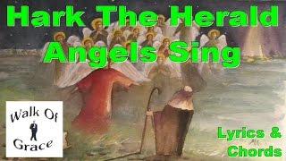 Hark The Herald Angels Sing Lyrics and Chords (Acoustic Christmas song)