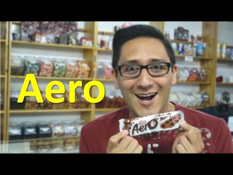 American Tries British Candy, Aero // TheCandyGuy