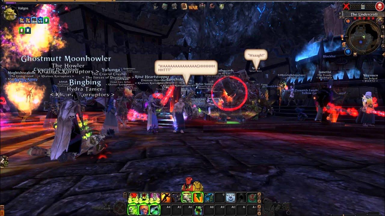 Warhammer Online Final Moments Before Shutdown Youtube