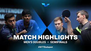 Harmeet Desai /M. V.Thakkar vs V. Sidorenko/Kirill Skachkov | WTT Contender Budapest 2021 (1/2)