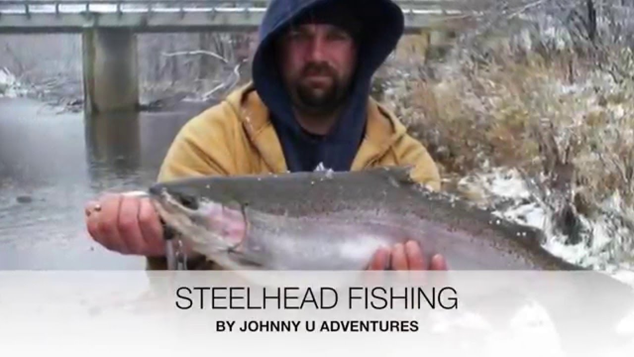 Ohio and pa steelhead fishing get outside ohio youtube for Ohio river fishing report