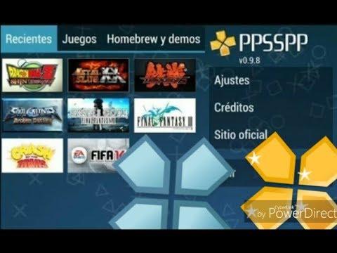 como descargar juegos para ppsspp emulador