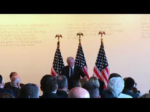 U.S. Attorney General Jeff Sessions speaks at Boston's Moakley Courthouse