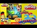 Play Doh Jake and The Neverland Pirates Treasure Creations Playdough Playset Hasbro Toys
