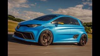 Renault's mad Zoe e-Sport concept driven