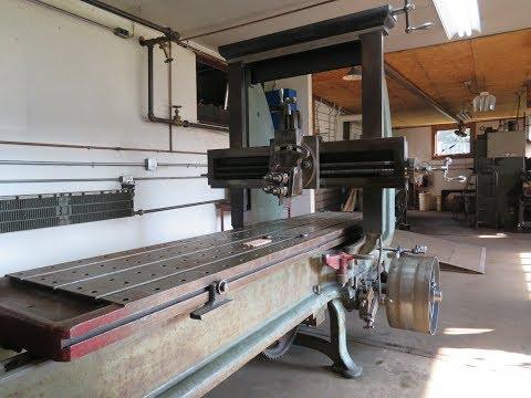 Steam Powered Machine Shop 57 planer progress, shop work