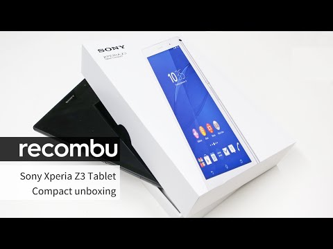 Sony Xperia Z3 Tablet Compact unboxing and first look