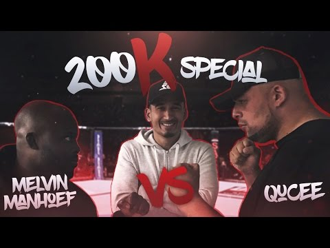 | 200k SPECIAL | QUCEE VS MELVIN MANHOEF!!  - SUPERGAANDE ITEM