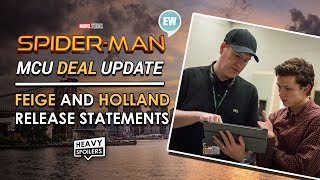 Spider-Man In The MCU UPDATE | Tom Holland And Kevin Feige Issue Full Statement On Sony Disney Deal
