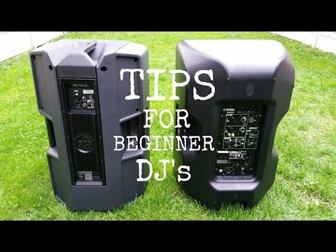 Beginner DJ Tips
