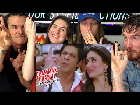 CHAMMAK CHALLO | Ra One | SRK | Song REACTION!