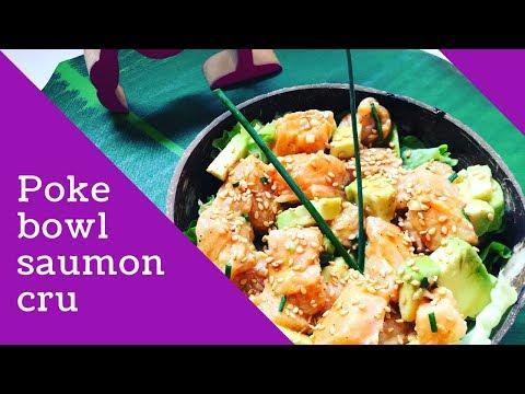 recette:-poke-bowl-saumon-cru-marinÉ-a-la-sauce-soja