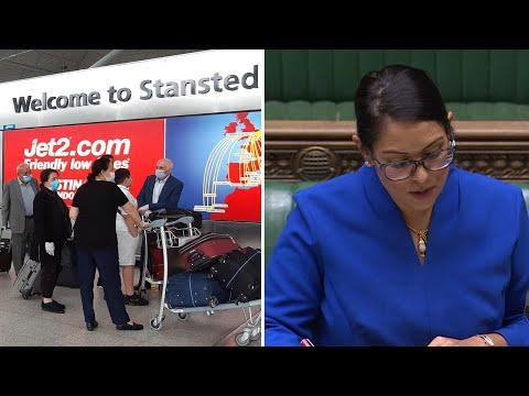 Watch again: Priti Patel outlines 14-day quarantine travel plan to MPs | Coronavirus