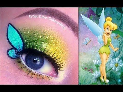 Disney S Tinkerbell Makeup Tutorial