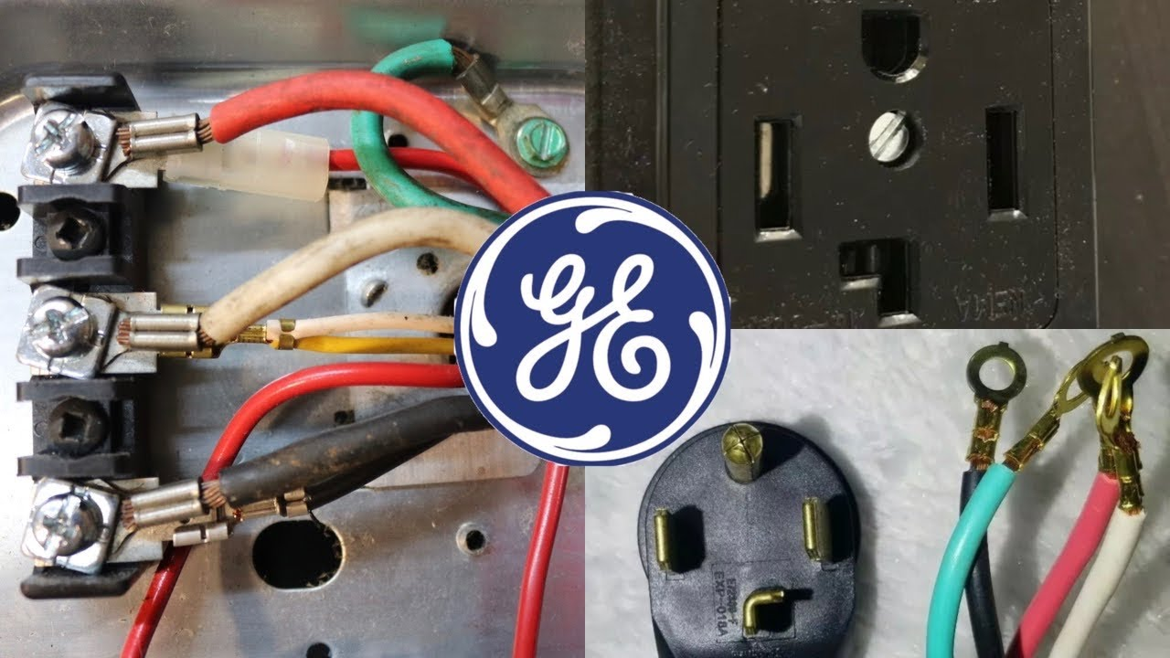How to Install 4 Prong Plug on a GE or Hotpoint Dryer Cord Step by Step  Guide to Wiring - YouTube | Ge Profile Dryer Wiring Diagram |  | YouTube