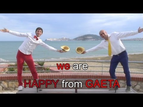 Pharrell Williams - We Are Happy From GAETA