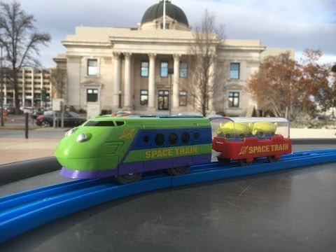 Alien Space Train at Washoe County Courthouse & Pioneer Center for the Performing Arts RENO 02288 pt