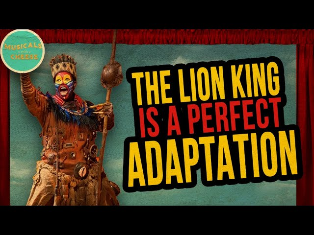 The Lion King Musical is a PERFECT ADAPTATION