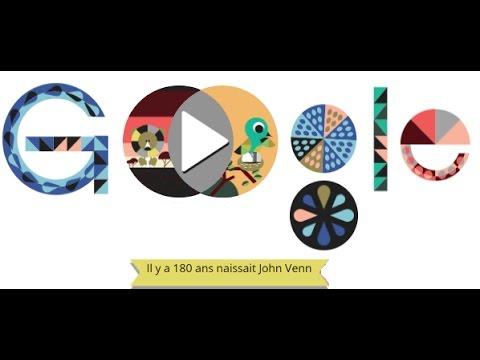 John venn google doodle diagrammes de venn youtube john venn google doodle diagrammes de venn ccuart Images