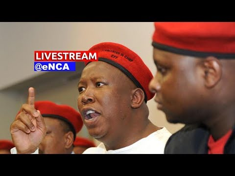 Malema briefs media on Gupta email saga