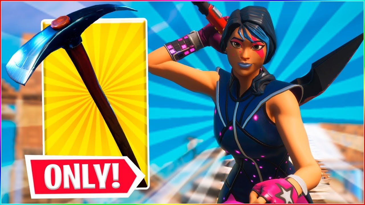 PICKAXE ONLY CUSTOMS! | Dansk Fortnite