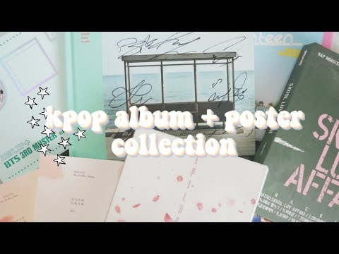 kpop collection | albums + posters