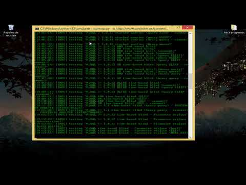 hackeando con sqlmap (sql inyección, cmd y python)