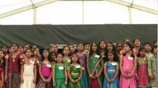 LMA NJ 2012 Guruvayurappan Temple Performance - Om Namo Narayanaya