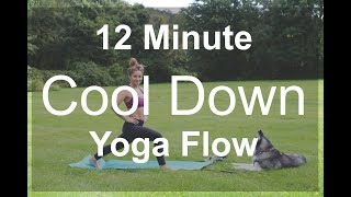 12 Minute Cool Down Yoga Video