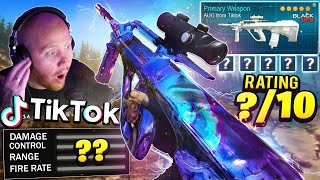 TRYING AN AUG FROM TIKTOK IN WARZONE... IS IT GOOD??? Ft. Nickmercs, SypherPK & Swagg