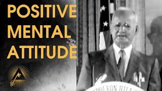 Napoleon Hill - Positive Mental Attitude (PMA) - RARE LIVE LECTURE