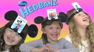Disney Hedbanz Super Fun Game for Kids featuring Frozen Toy Story Mickey and Minnie Mouse