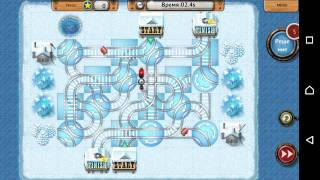 Rail Maze 2 Playthrough Level 91-100 (Android, iOS) Esp. Level 92, Level 100.