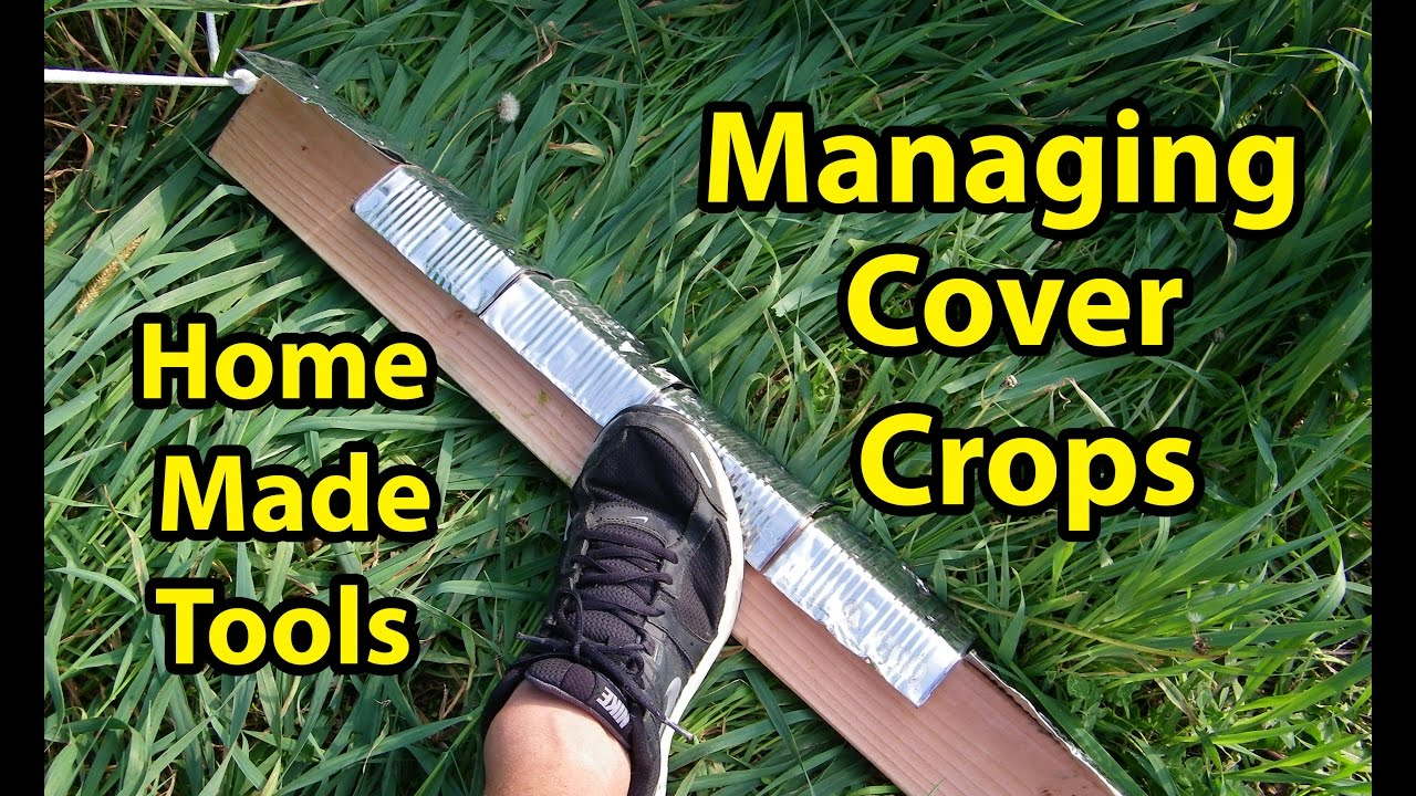 Build Home Made Tools For Managing Cover Crops In Back To Eden Gardening Method 101 With Wood