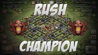 {-i RUSH !-} Champion | HDV 8 à 10 -- Clash Of Clans