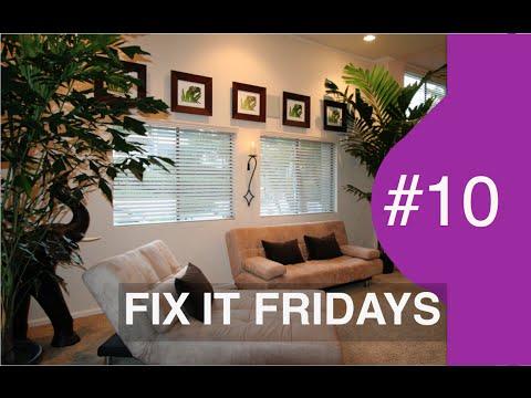 Interior Design | Living Room UPDATE for $500 | Fix It Fridays #10